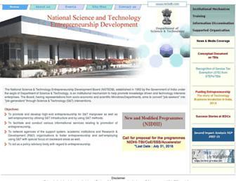 nstedb.com screenshot