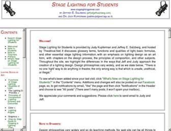 stagelightingprimer.com screenshot