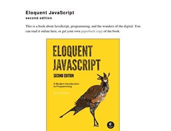 eloquentjavascript.net screenshot