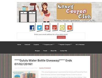 Thumbshot of Krazycouponclub.com
