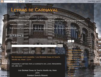 letrasdcarnaval.blogspot.com screenshot