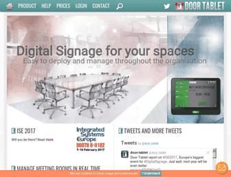 door-tablet.com screenshot