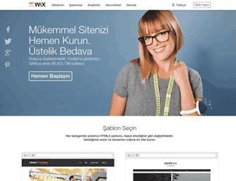 tr.wix.com screenshot