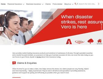 vero.com.au screenshot