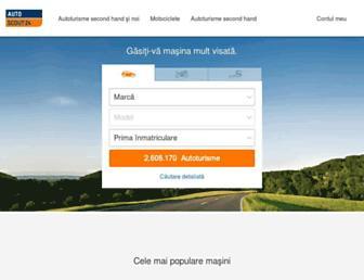 autoscout24.ro screenshot