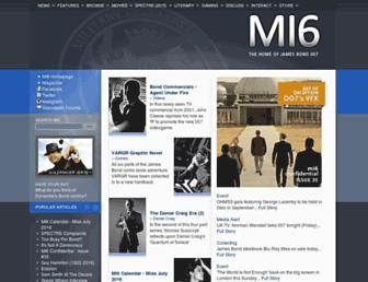 Thumbshot of Mi6-hq.com