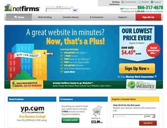 Thumbshot of Netfirms.com