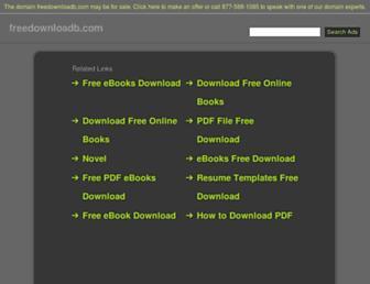 freedownloadb.com screenshot