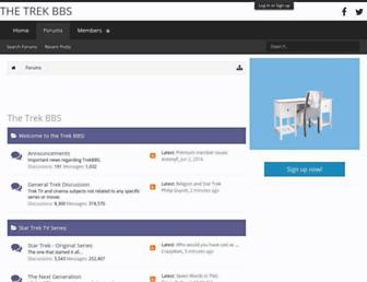 trekbbs.com screenshot