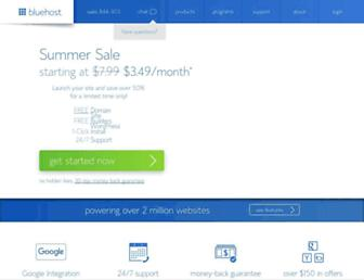 Thumbshot of Bluehost.com