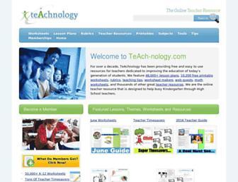 teach-nology.com screenshot