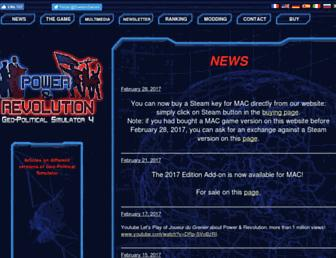 power-and-revolution.com screenshot