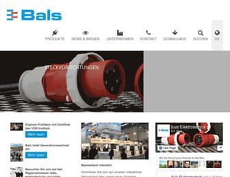bals.com screenshot