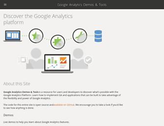 ga-dev-tools.appspot.com screenshot