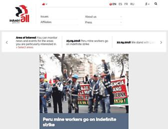industriall-union.org screenshot