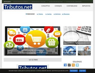 tributos.net screenshot