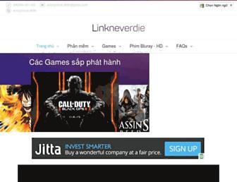 linkneverdie.com screenshot