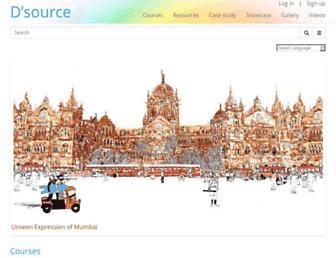 dsource.in screenshot
