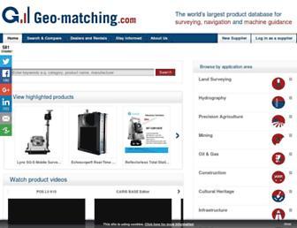 geo-matching.com screenshot