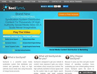 Thumbshot of Socisynd.com