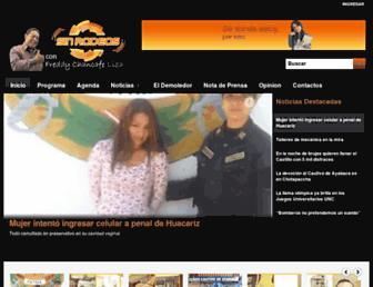 sinrodeoscajamarca.com screenshot