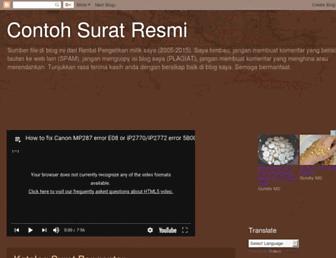 suratsuratresmi.blogspot.com screenshot