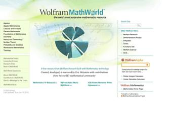 mathworld.wolfram.com screenshot