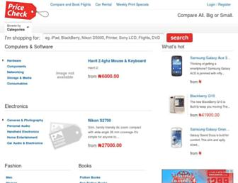 pricecheck.com.ng screenshot