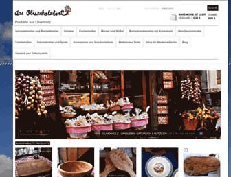 Thumbshot of Olivenholzbrett.com