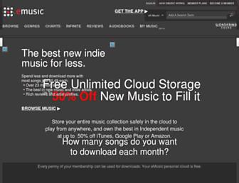 Thumbshot of Emusic.com