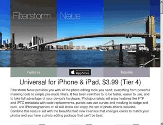 filterstormneue.com screenshot