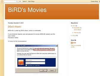 birdhd.blogspot.com screenshot