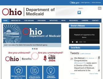 medicaid.ohio.gov screenshot