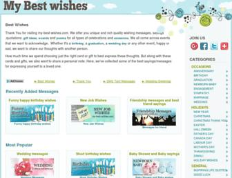 Thumbshot of My-best-wishes.com