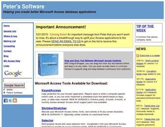 peterssoftware.com screenshot