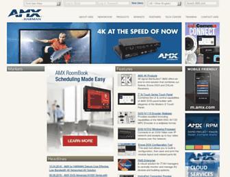 trade.amx.com screenshot