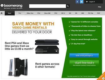 Thumbshot of Boomerangrentals.co.uk