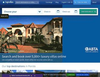 thetopvillas.com screenshot