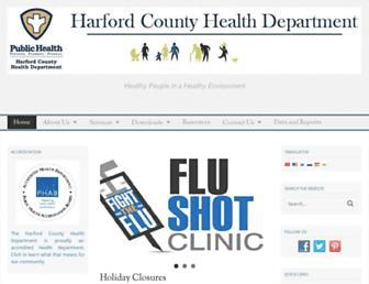 harfordcountyhealth.com screenshot