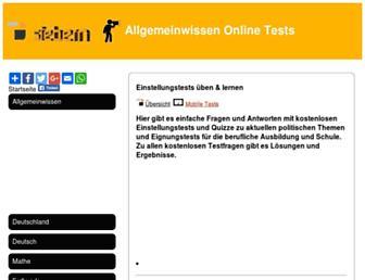 Main page screenshot of siebern.de