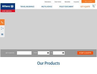allianz-assistance.co.uk screenshot