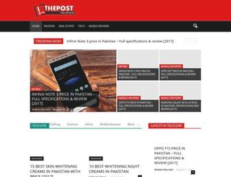 thepost.com.pk screenshot