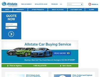 allstate.ca screenshot