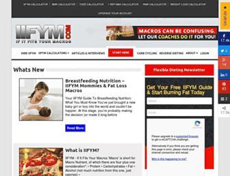 Thumbshot of Iifym.com