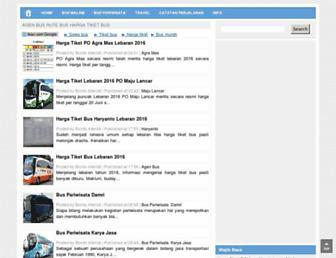 agen-bus.blogspot.com screenshot