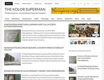 kolorsuperman.blogspot.com screenshot