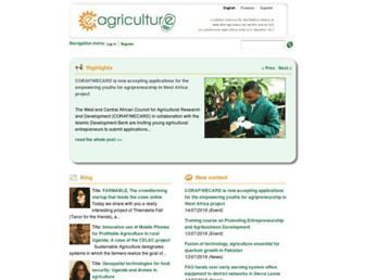 e-agriculture.org screenshot