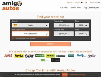 amigoautos.com screenshot