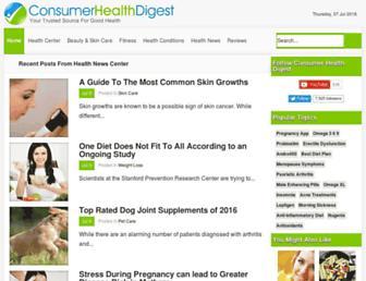 Thumbshot of Consumerhealthdigest.com