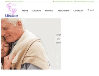 mirasoon-care.com screenshot